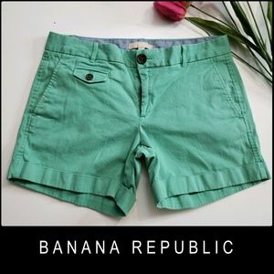 Banana Republic City Chino Woman Flat Front Short